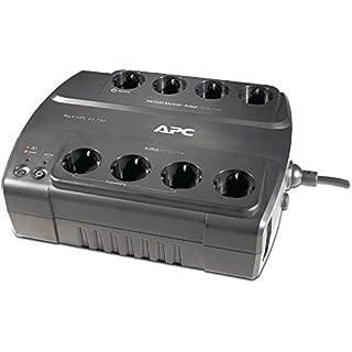 APC Back-UPS ES - BE700G-GR - Unterbrechungsfreie Stromversorgung 700VA (8 Schuko Ausgänge, Überspannungsschutz)