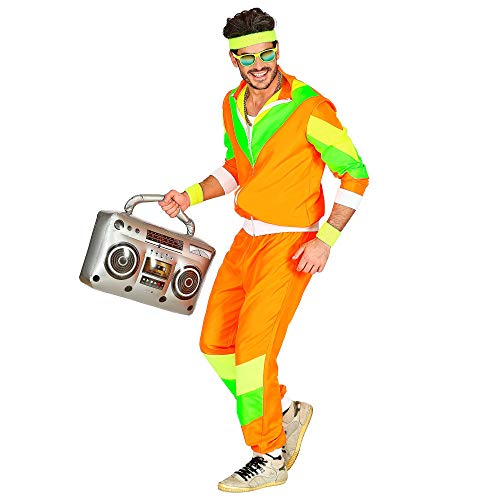 80s Men's Orange Tracksuit - SHellsuit