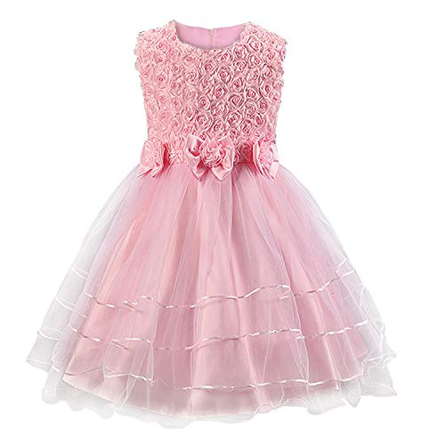 ose Blumen Kleid Rosa 4-5 Jahre ()