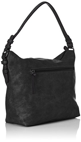 Tamaris - Jutta Hobo Bag S, Borse a tracolla Donna Nero (Black)