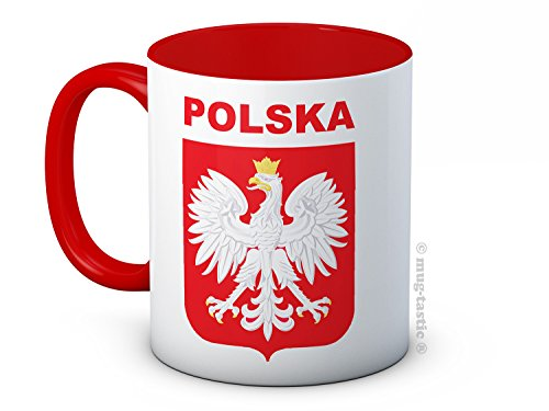 Polska Pologne - Football Soccer haute qualité Mug à café en céramique