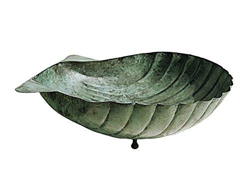 Monsieur Fredrik Coque en Forme de Plat, Vert, 40 cm