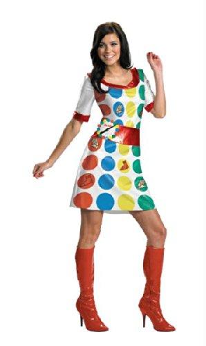 Twister Adult 8-10 (Twister Spiel Kostüme)