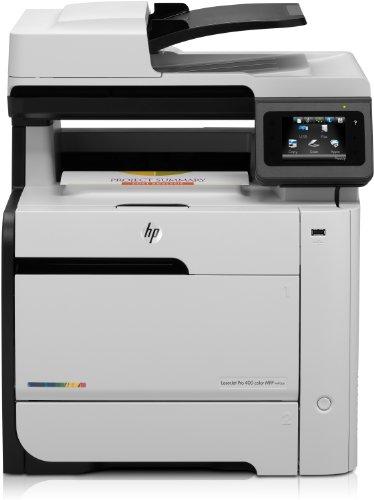33,6 Kbps Fax Usb (HP LaserJet Pro 400 color MFP M475dn Multifunktionsgerät (Kopierer, Scanner, Fax, Drucker, USB 2.0))