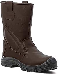 Coverguard - PIEMONTITE bottes de sécurité fourrées cuir de buffle S3