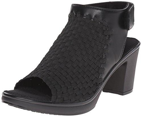 Steven Steve Madden ezzme Slingback Absatz, Black, 36.5 EU (Wedges Sneakers Madden Steve)
