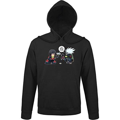 Sweats à capuche Naruto parodique Kakashi Itachi : Combat de Ninjas ! (Parodie Naruto)