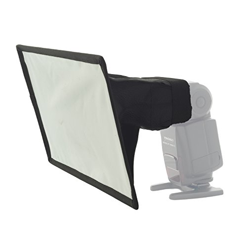 "Mini Softbox Diffusor Bouncer ""Life of Photo"" MF-1622 16x22cm für Aufsteckblitz"