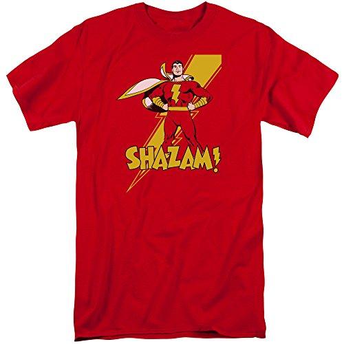 DC Comics Herren T-Shirt Rot