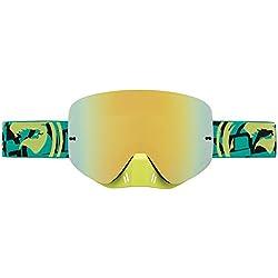 Dragon NFXs máscara de Deporte Oro Ahumado ionizadas, Color Dorado - Or Fumé Ionisé, tamaño Small
