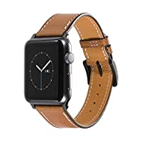 CHIMAERA Compatible for Apple Watch Strap WatchBand 38mm 40mm 42mm 44mm for iWatch & Sport & Edition Series 1/2/3/4 Bracelet Classic Buckle Super Soft