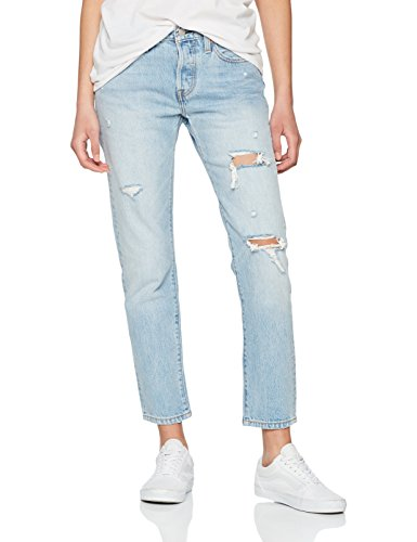 Levi's Damen Straight Jeans 501 Taper, Blau (so Called Life 0023), W26/L28