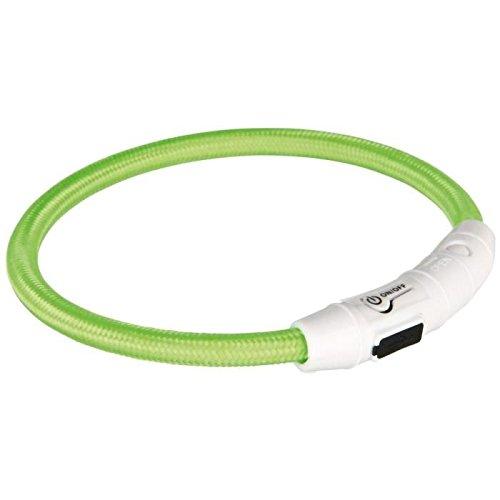 Trixie USB Leuchtring - M/L - Grün