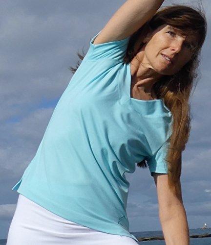 ESPARTO Yoga V-Shirt Farishta in Bio-Baumwolle