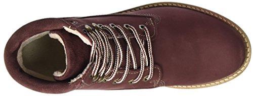 Tamaris Damen 25242 Stiefel Rot (Bordeaux Nubuc)