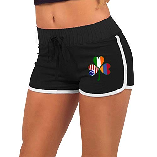 Armenian Shamrock Flag Women's Sexy Shorts Fashion Beach Hot Shorts S -
