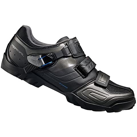 Bicicleta de montaña Shimano adultos zapatos zapatillas de ciclismo de ancho Vel bermaro/Ratschenv., varios coloures, 48,