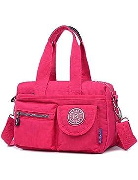 MeCooler Messenger Bag Damen Umhängetasche Mädchen Taschen Reisetasche Wasserfeste Kuriertasche Designer Sporttasche...