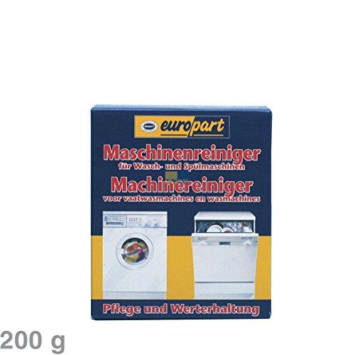 Europart Maschinenreiniger für Waschmaschine Spülmaschine Geschirrspüler Waschgerät