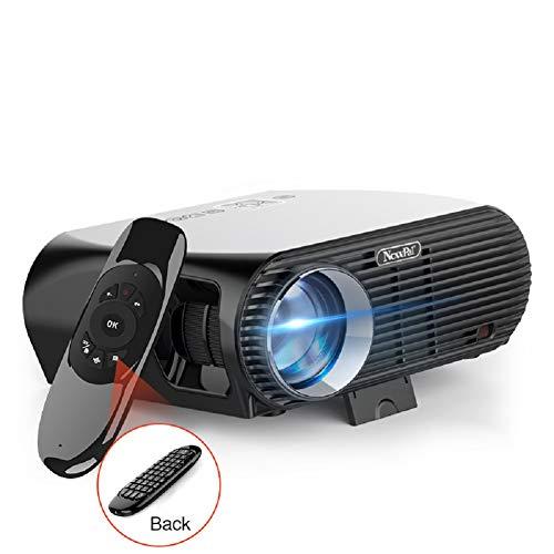GP100UP Tragbarer LED-Projektor HD 1080P, drahtloser Android-Ios-Büro-Home-Beamer, kompatibler TV-Stick, PS4, HDMI, VGA, TF, AV und USB