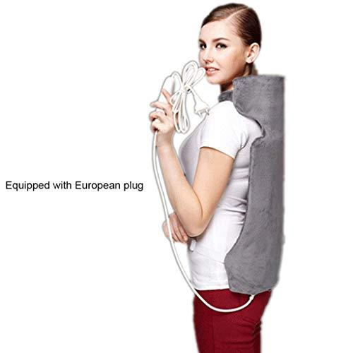 DYS@ Elektrischer Heiztuch, Elektrischer Rückenwärmer Für Schmerzlinderung, 3 Wärmeeinstellungen, Überhitzungsschutz Und 90 Minuten Auto-Off-Maschinenwaschbar