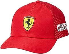 Idea Regalo - Scuderia Ferrari 2019 Cappello della Squadra F1TM