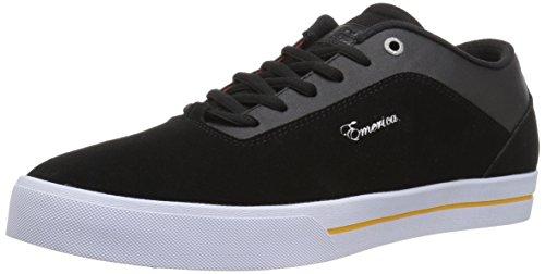 Emerica Herren g-Code re-Up X Vol 4Skate Schuh, Schwarz - Schwarz/Weiß/Goldfarben - Größe: 43 (Reynolds Weiß Schuhe)