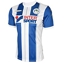 Kappa 2017-2018 Wigan Athletic Home Football Shirt