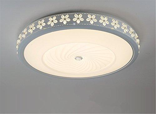 Plafoniere A Led Per Soggiorno : Plafoniera con lampada a led in 3 colori stile moderno per