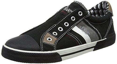 s.Oliver 14603, Sneakers Basses Homme Noir (Black)