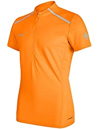 Mammut ATACAZO Light Zip - Camiseta, Hombre, Naranja(Dark Radiant)