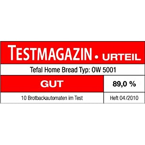 Amazon.de: Tefal OW 5001 Brotbackautomat Home Bread XXL