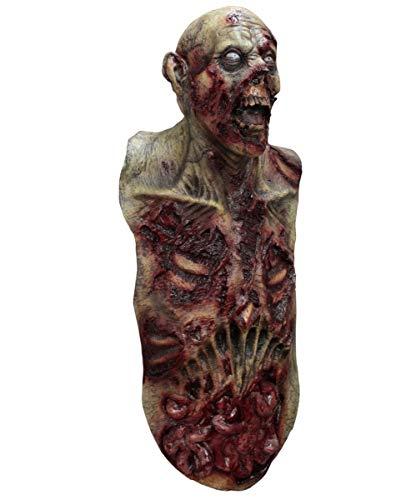 Horror-Shop Riesige Zombie Maske aus Latex für Zombie Walk & Halloween