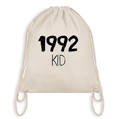 Compleanno - 1992 Kid - Borsa Da Palestra I Gym Bag Bianco Naturale