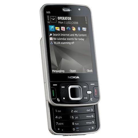 Nokia N96 Smartphone (UMTS, WLAN, A-GPS, Organizer, Kamera mit 5 MP)