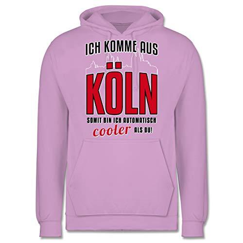Lavendel Köln (Städte - Ich komme aus Köln - XS - Lavendel - JH001 - Herren Hoodie)