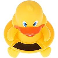 Termometro da Bagnetto Premium Floating Anatra Forma Acqua Sensore di temperatura max forza ideale come giocattoli da bagno per bambini, misura grande, per bambini, ragazzi e ragazze, lettura, del tuo bambino sicurezza prima.