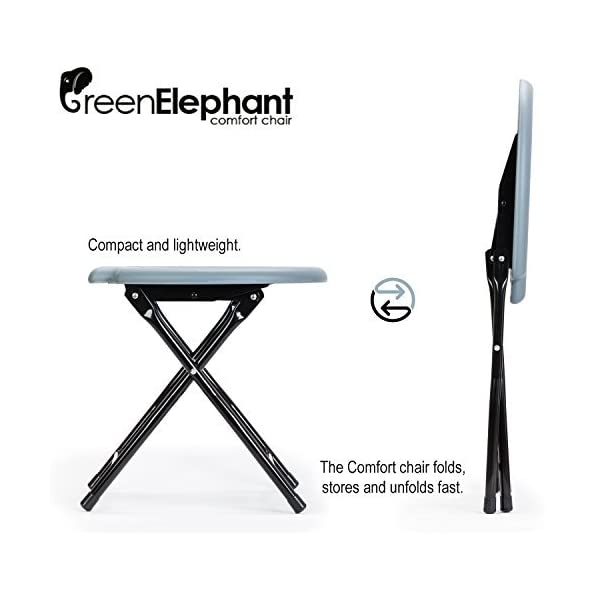 GREEN ELEPHANT Camping Toilet | Lightweight Portable Toilet & Porta Potti | Stainless Steel Portable Toilets for Adults…