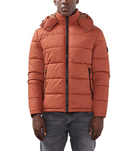 edc by ESPRIT Herren Jacke Orange (rust Orange 810)