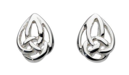 heritage-womens-sterling-silver-sling-knot-stud-earrings-42n9hp