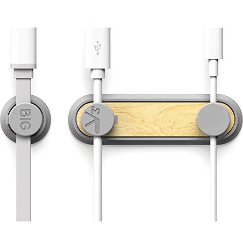 OUNONA Magnetische Kabel-Clips Büro Desktop Kabel Organizer für Handy-Kabel USB-Kabel Ladekabel (Magnetic Flache Usb-kabel)