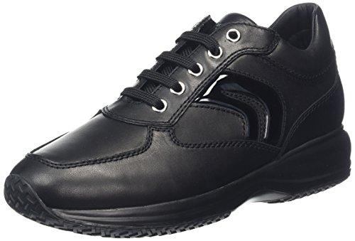 GEOX D HAPPY B Sneaker Donna nero 35 C7s
