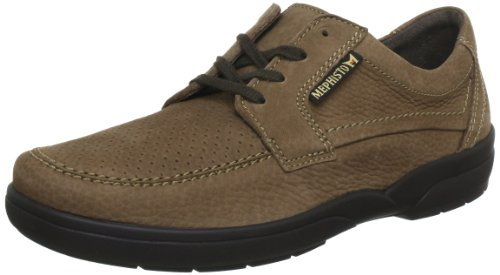 Mephisto AGAZIO PERF SPORTBUCK 1965 SOMBRE TAUPE P5106761, Scarpe chaussures à lacets basses homme Dk taupe/
