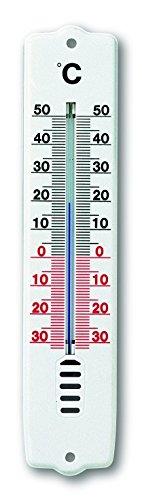 TFA 12.3009Thermometer für den Innen- und Außenbereich, Kunststoff, Weiß