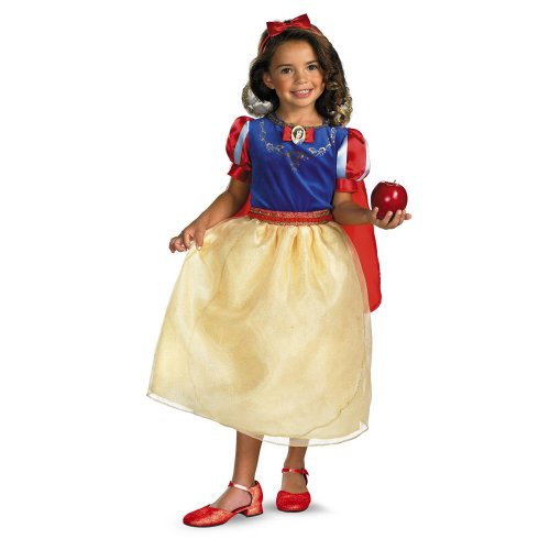 Wmu - Snow White Deluxe Child Costume- 4X-6X