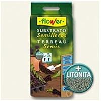 Flower 80049 - Substrato semilleros, 20 l
