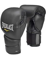 Everlast Protex 2 - Guantes de boxeo para entrenamiento, color negro, talla 14 oz