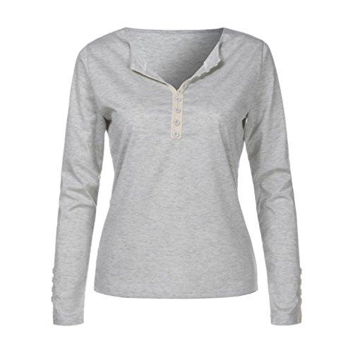 HLHN Camicia - donna Gray