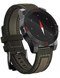 Smart Watch, Resistente Al Agua Bluetooth Pulsera Inteligente con Sensor de ritmo cardíaco, Pulsera inteligente Smartwatch con Monitor de Dormir/ Contador De Pasos Para Android, IPhone IOS Smartphones