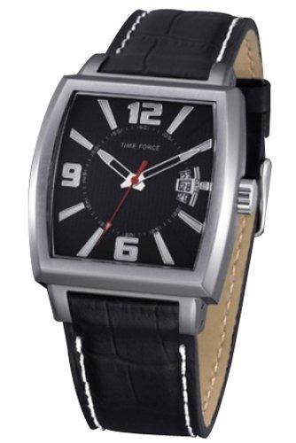 TIME FORCE TF4063M01 - Reloj Analógico para Hombre, Color Negro/Negro